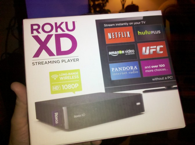 Roku, a glimpse into the future of TV