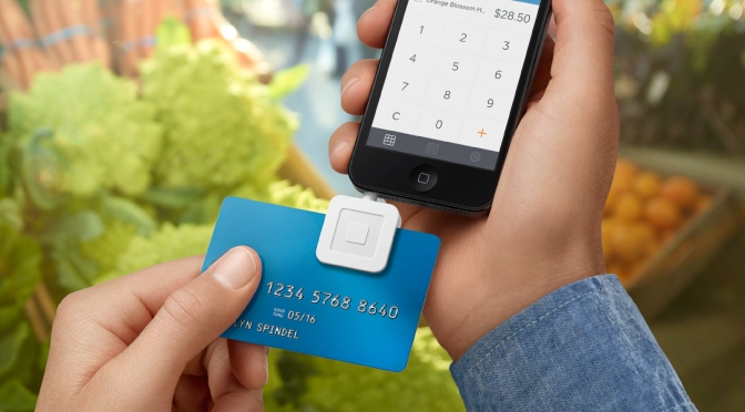 New Square Reader Arrives