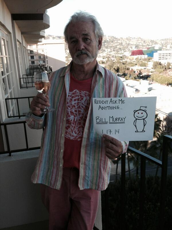 Bill Murray AMA on Reddit