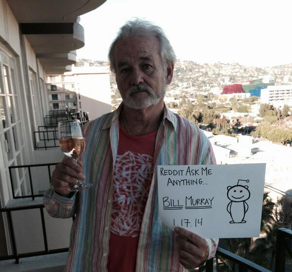 Bill Murray AMA on Reddit