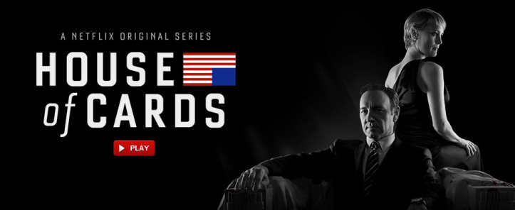House of Cards Netflix Instant