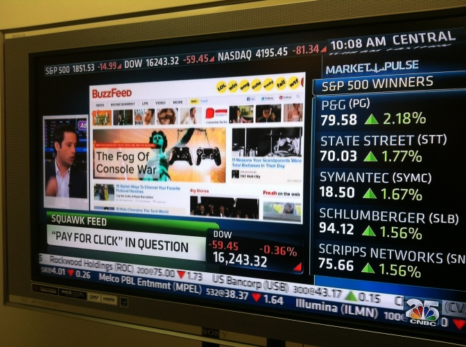 Buzzfeed on CNBC