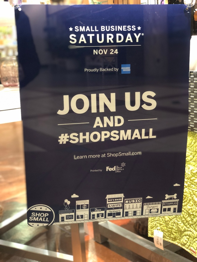 Small Business Beyond Saturday